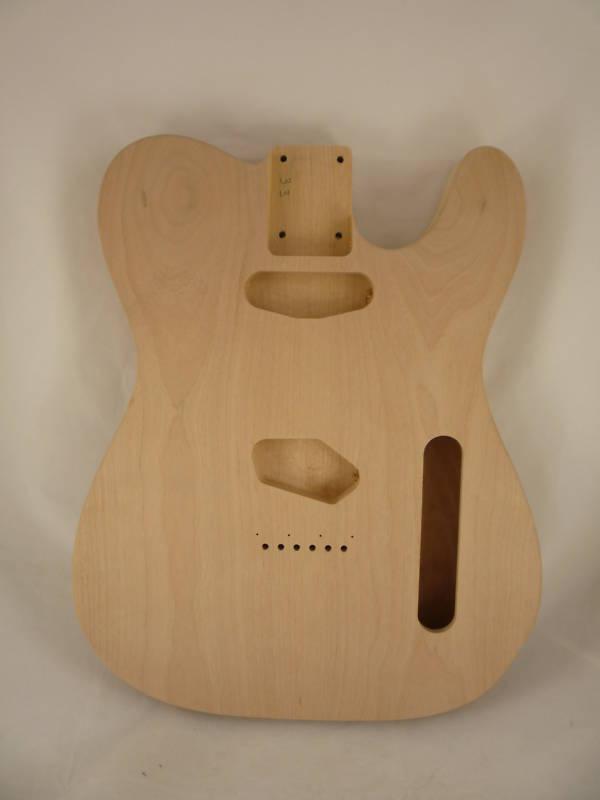 MJT Official Custom Order Aged Nitro Finish Chambered Guitar Body Mark Jenny VTT