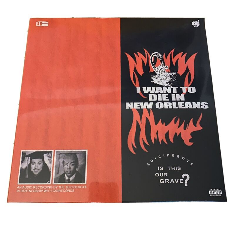 Suicideboys I Want To Die In New Orleans Vinyl Record