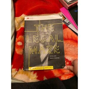 The legal maze VCE Units 1&2 Book Keysborough Greater Dandenong Preview