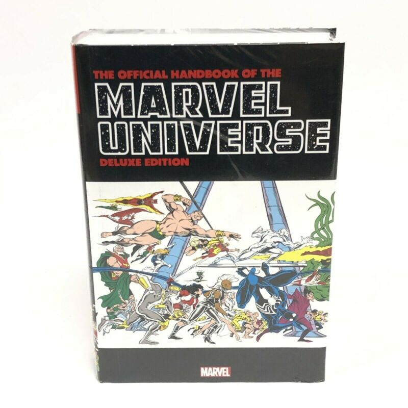 Official Handbook of The Marvel Universe Omnibus Deluxe DM Variant NEW Sealed HC