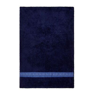 Versace Home Dark Blue Face Towel