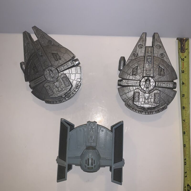 Vintage Star Wars Fighters 1996 Lot Of 3 E19