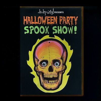 HALLOWEEN PARTY & SPOOK SHOW DVD! GHOSTS GHOULS & SCARY TRAILERS 2 HOURS! (Halloween Party Movies)