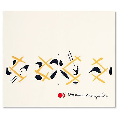"Genuine ""UKAI"" AKARI Print 3A by ISAMU NOGUCHI - Free Shipping from Japan"