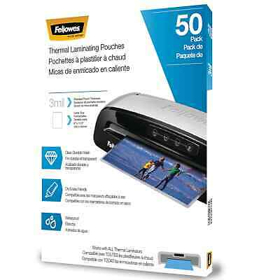 Fellowes Thermal Laminating Pouches Letter 3 5744301