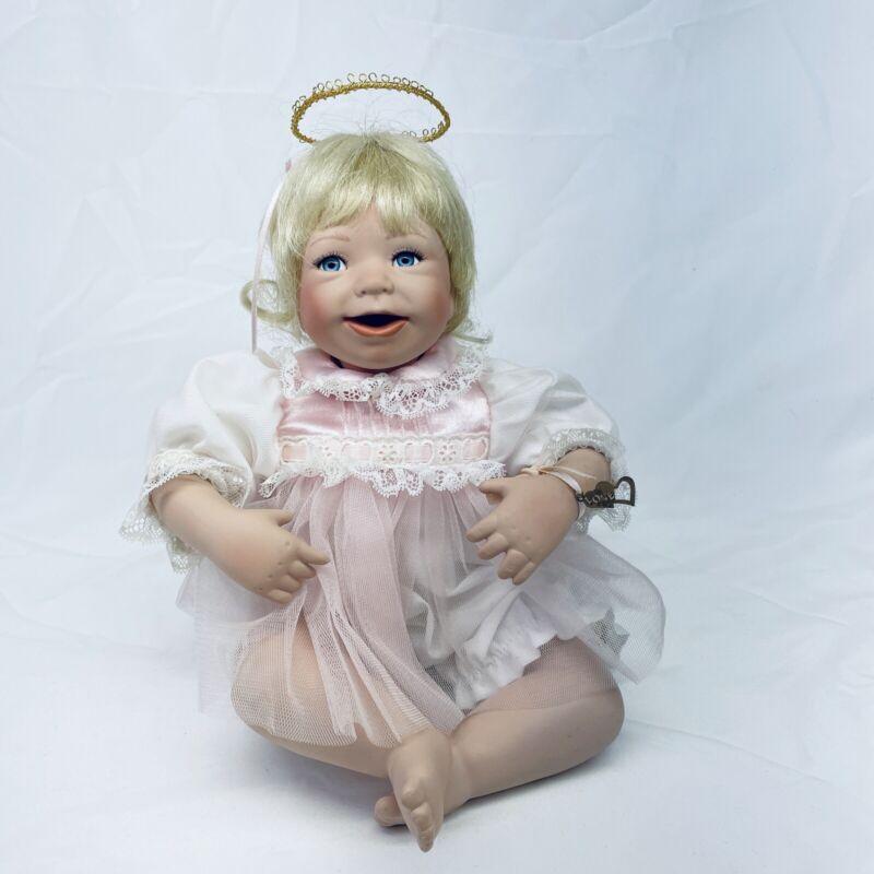 "1994 Ashton Drake Angel Doll I Wish You Love J. Good-Kruger Doll 10"""