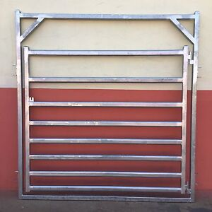 Cattle yard gates with Slam shut latches available soon Torrington Toowoomba City Preview