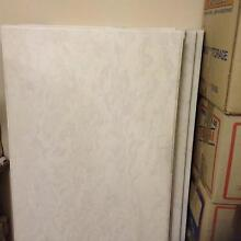 porcelain  kitchen bench tops white  gray colour  cost  $1150.00 Woongarrah Wyong Area Preview