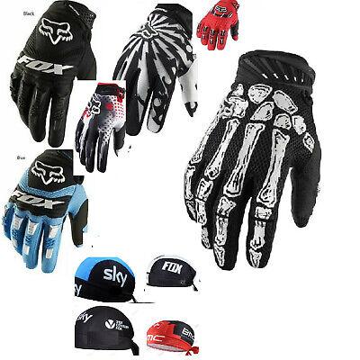 FOX gloves Dirtpaw. Cycling Gloves Racing Biking motorcycle Motorbike /BANDANAS  (Fox Bandana)