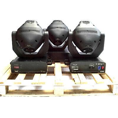JOB LOT 3 x COEF MP250 Zoom 250W MSD Moving Head Lights DJ Disco Stage Lighting