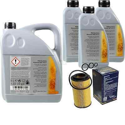 8L Inspektionspaket Mercedes 229.51 Motoröl 5W-30 + MANN Ölfilter 11125388
