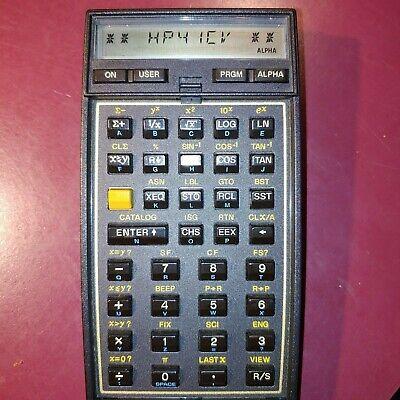 HP41CV Scientific Vintage calculator - Made in Brazil - USED condition