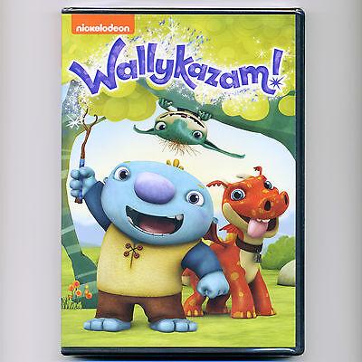 Wallykazam! 2014 G 4 children's animated TV episodes, new DVD 92 min Nickelodeon - Wallykazam Movie