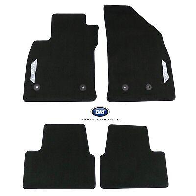 2016-2017 Chevrolet Volt Front & Rear Premium Carpet Floor Mats 23333664 Black