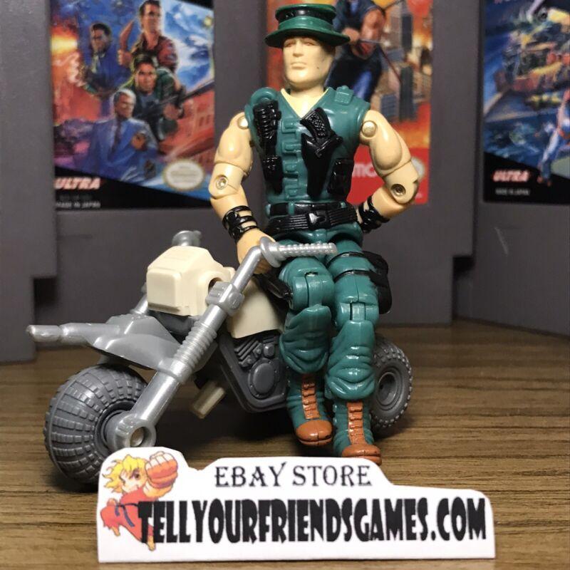 GI Joe Muskrat ~ 1988 With ATV , Motorized Vehicle Pack Vintage 80's Toys
