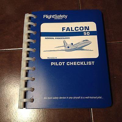 Falcon 50 Pilot's Normal Procedures Pilot Checklist