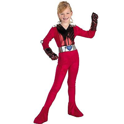 Clover Girls Costume Small-Totally Spies Kids - Girl Spy Costume