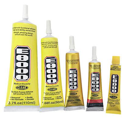 E8000 Soft Glue Clear Adhesive Sealant Glue