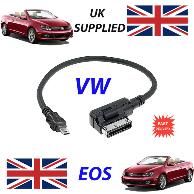 VW EOS AMI MMI 5G0051763C MP3 PHONE MICRO USB Cable replacement