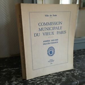 Proces-Verbaux-1968-1969-Commission-Municipale-Du-Vieux-Paris-Illustre