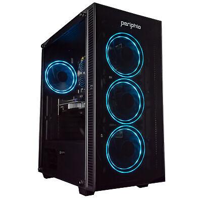 Periphio Gaming PC Quad Core i5 8GB 120 SSD 1TB Win 10 GeForce GTX 1650 Computer