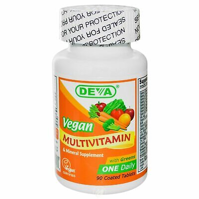 Deva Nutrition - Vegan 1-A-Day Multivitamin 90 - Deva Nutrition Vegan Multivitamin