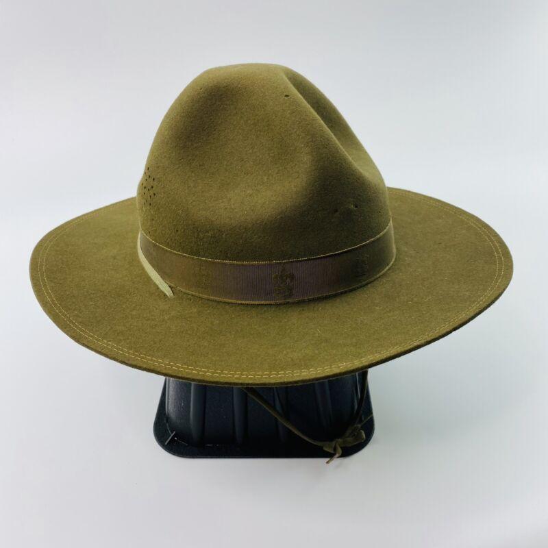 Boy Scout BSA Official Felt Campaign Hat Size 7-1/8 Vintage original 1930s/40s