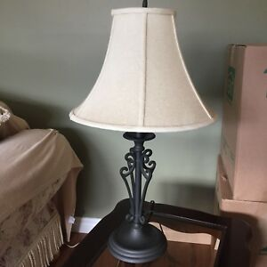 Set of two identical lamps