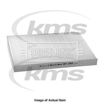New Genuine BORG & BECK Pollen Cabin Interior Air Filter BFC1002 Top Quality 2yr