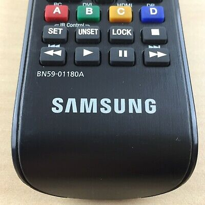 ✅100% Original SAMSUNG BN59-01180A LED SMART HDTV HIGH BRIGHTNESS REMOTE CONTROL