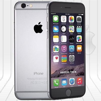 Apple Iphone 6 (64GB)  FACTORY UNLOCKED PHONE 4G LTE  IOS 9.4 HD Gray