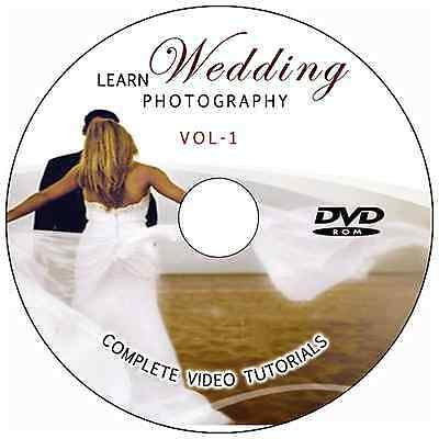 LEARN/MASTER WEDDING PHOTOGRAPHY DIGITAL TRAINING VIDEO TUTORIALS ON AMAZING DVD