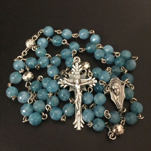 how to make rosary beads from roses