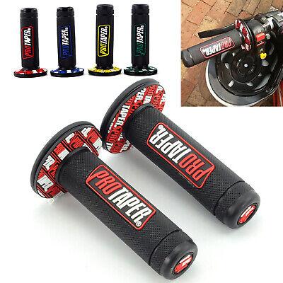 New Rubber Motorcycle Hand Grip Handlebar Handle Bar ATV Dirt Motor Access DT
