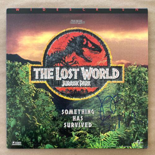 Jeff Goldblum Signed Jurassic Park The Lost World Laserdisc Cover Autograph Rare