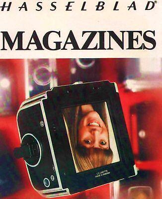 1978 HASSELBLAD INTERCHANGEABLE MAGAZINES BROCHURE -HASSELBLAD MAGAZINES