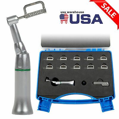 41 Reduction Dental Contra Angle Ipr Handpiece 10 Interproximal Strips Kit