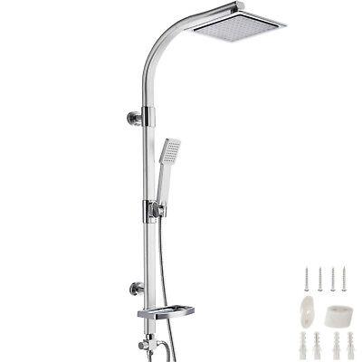Système de douche à effet pluie Douchette set kit salle de bain repose-savon