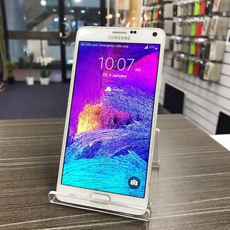 As new Samsung Galaxy Note 4 White 32G with warranty