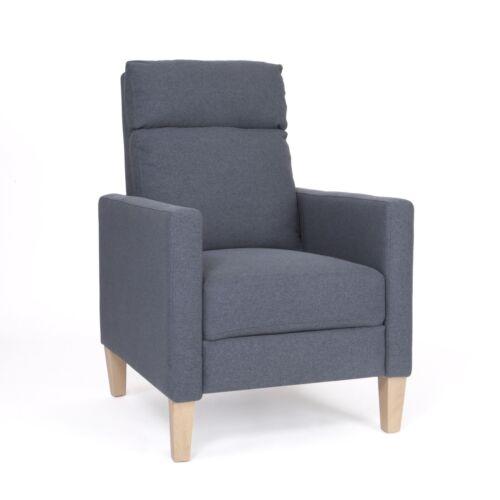 Isla Mid Century Fabric Recliner Chairs