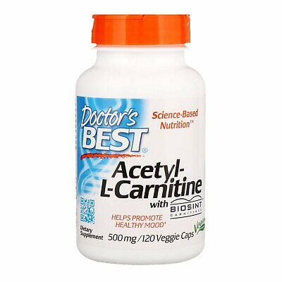 Doctor s Best Acetyl-L-Carnitine 500 mg 120 Veggie Caps