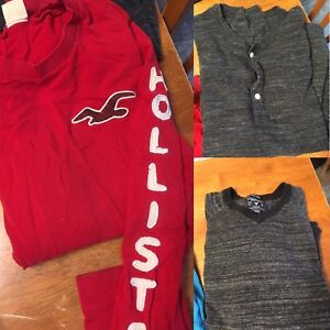 Boys/men  American eagle/Hollister shirts Size small