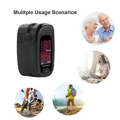 New Spo2 Pr Oled Fingertip Pulse Oximeter Caseblood Oxygen