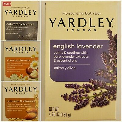 Yardley Moisturizing Bath Bar Soap Variety To -