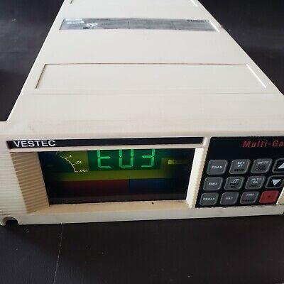 Varian Vestec Lr88590 Multi-gauge Controller Vacuum Gauge Tested