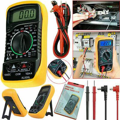 Digital Voltmeter Ammeter Ohmmeter Multimeter Volt Ac Dc Tester Meter Us Be