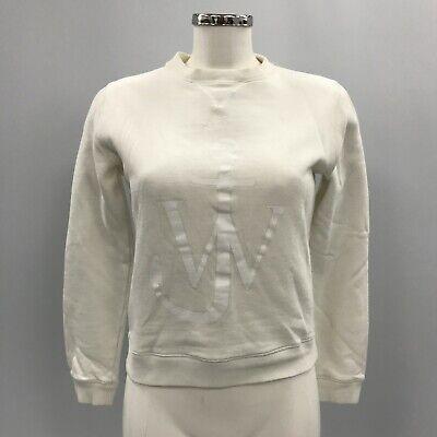 J.W. ANDERSON Beige Logo 100% Cotton Casual Sweatshirt Jumper Size UK 8 091424