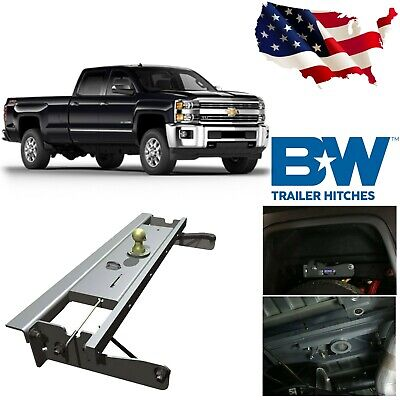 B&W GNRK1012 Turnover Ball Gooseneck Hitch for 2011-2015 Chevy GMC 2500HD 3500HD Ball Gooseneck Hitch