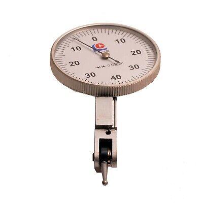 New Icarbide Testing Dial Indicator 0.01mm 0-40-0 Measure Tools
