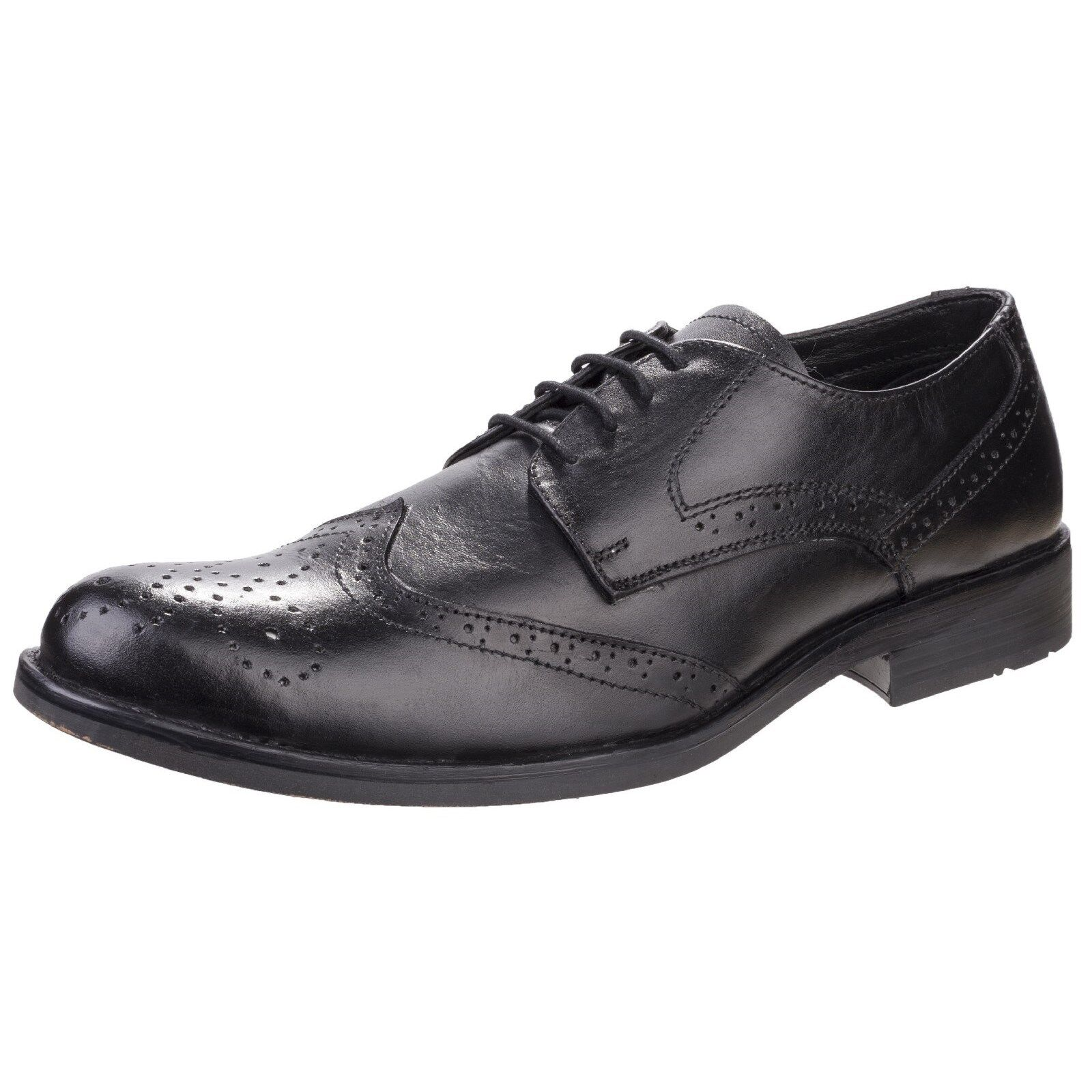 5d87c04c868d Details about Fleet & Foster Tom Leather Lace Up Brogue Style Mens Oxford  Shoes UK 6-12